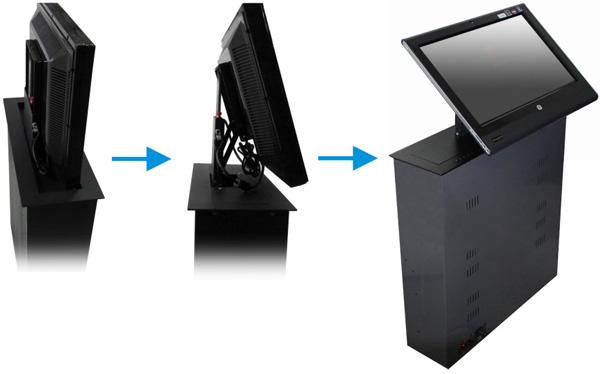 觸控液晶螢幕電動升降機