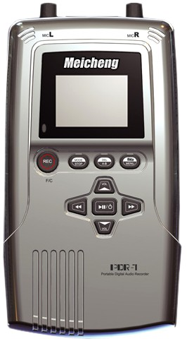 PDR-1 專業可攜式數位錄放音機