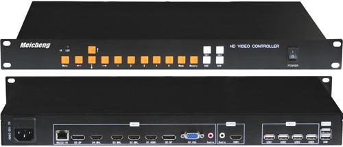 MX-1004-4K高解析四分割處理器