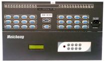 想看 MV-241A視訊音頻切換器(24進1出) -更大圖片
