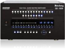 想看 SB-1608,VGA影音交叉矩陣轉換切換器 -更大圖片
