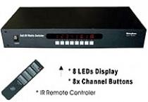 想看 SB-8180電腦螢幕VGA矩陣切換器 -更大圖片